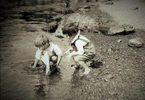 Recuerdos de la niñez en la bahía