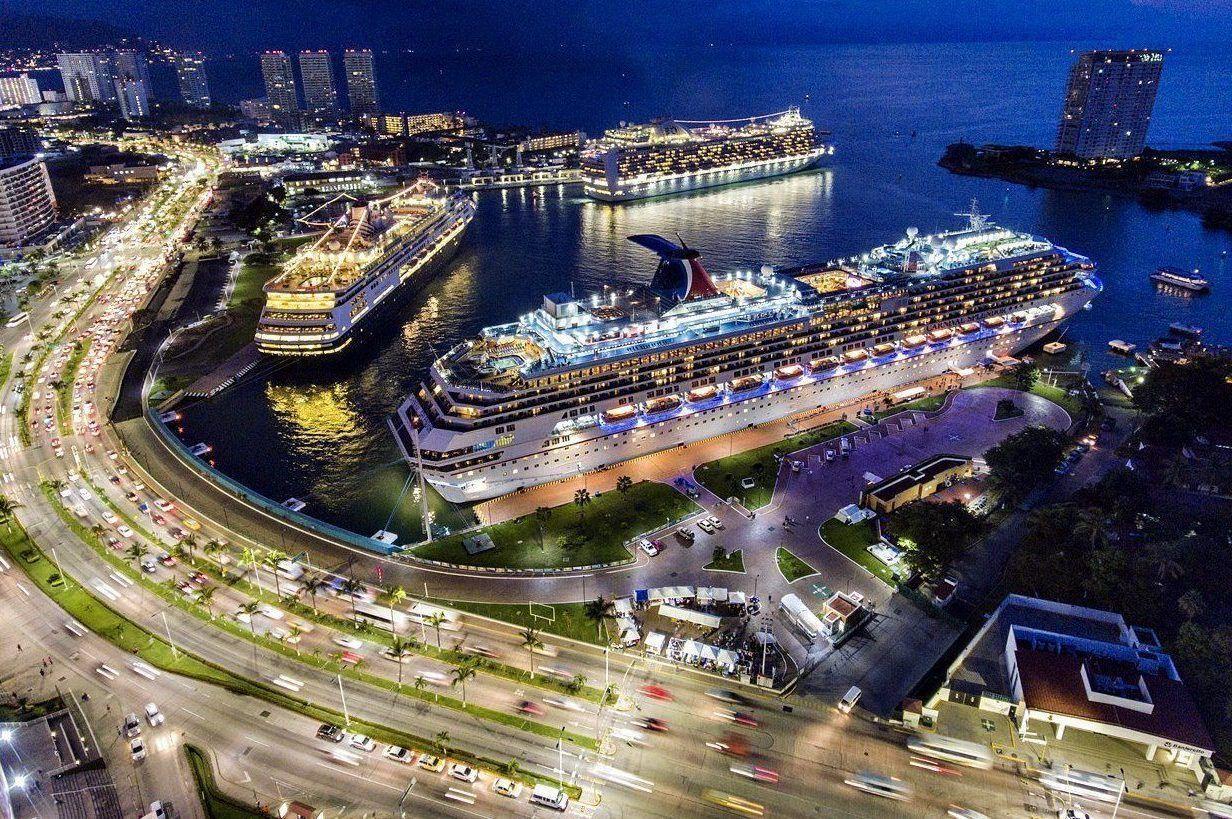 Bahía de Banderas, destino de moda para los cruceros