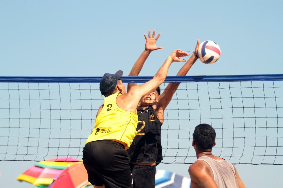 Rincón de Guayabitos, capital nacional del voleibol de playa