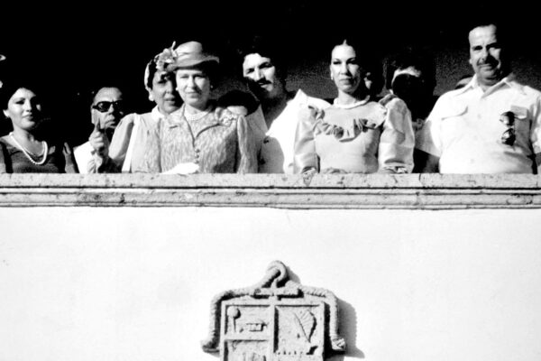 The day Queen Isabel received the keys to Vallarta