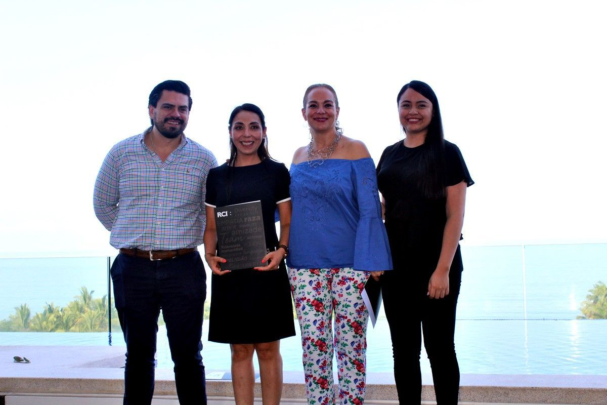 RCI entregó reconocimientos a grupo Marival