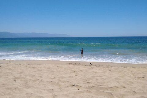 Camarones beach, perfect balance