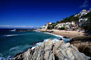 La playa Conchas chinas es para coleccionar