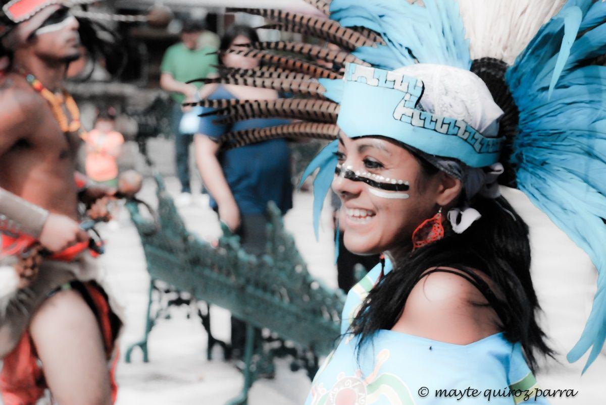 Atuendo de danzante, Danza Prehispánica en Vallarta