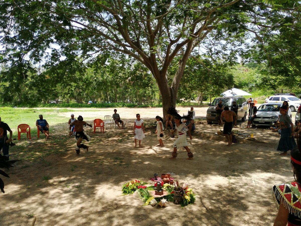 Rancho Madre tierra , Danza Prehispánica en Vallarta