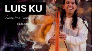 Luis Ku Noche de trova y arpa