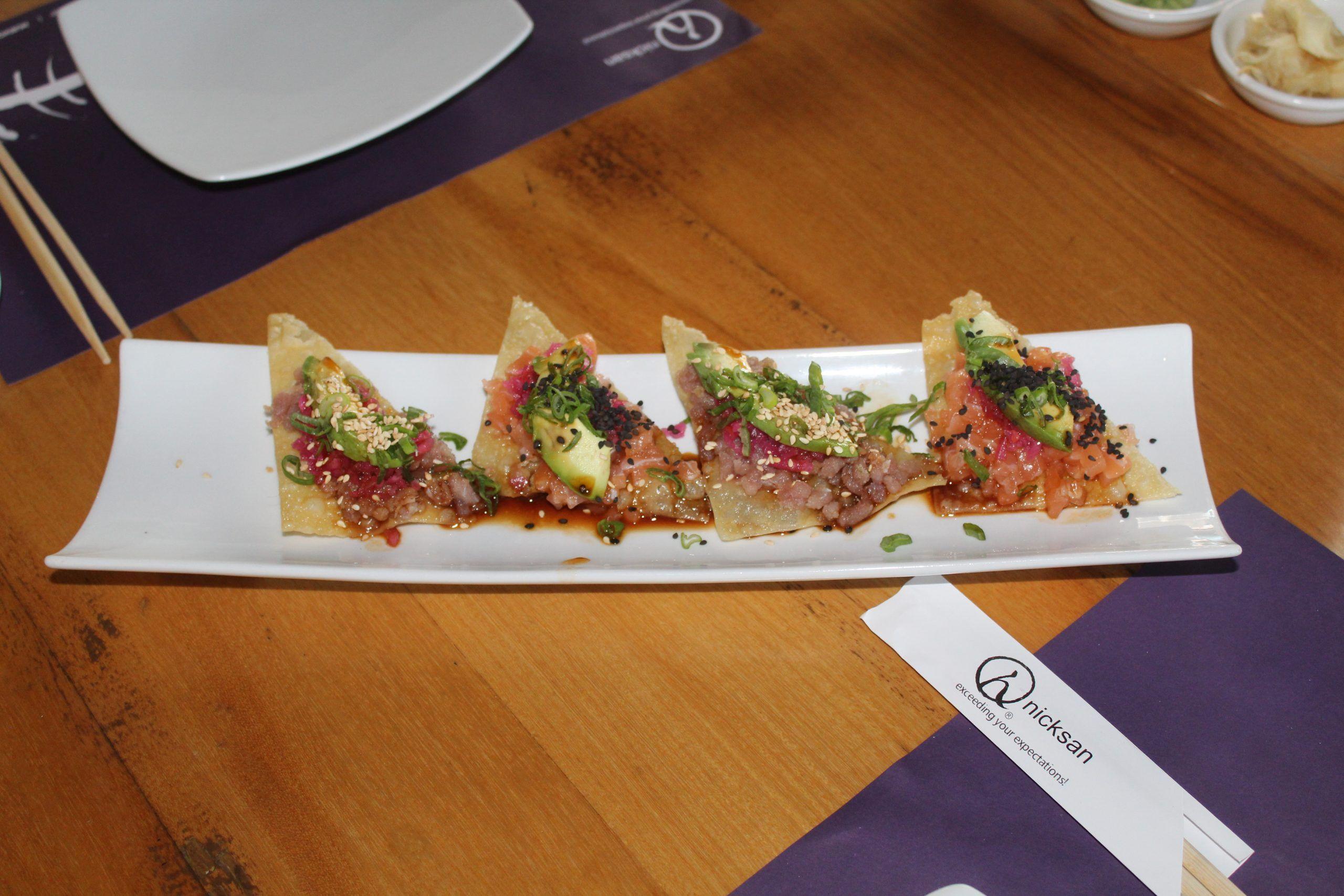 Nicksan, fantasía gastronómica de mil colores y sabores