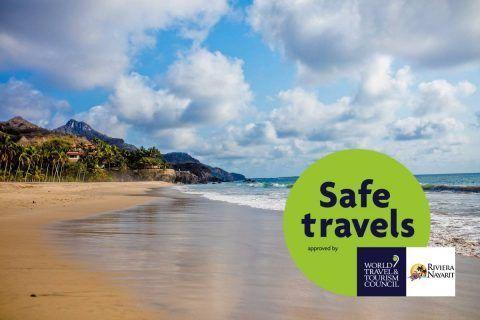 Riviera Nayarit obtiene Sello de Viaje Seguro del WTTC