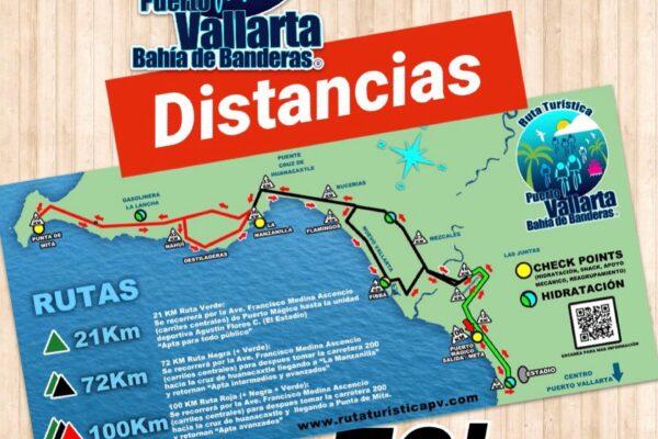 Puerto Vallarta Tourist Route 2021