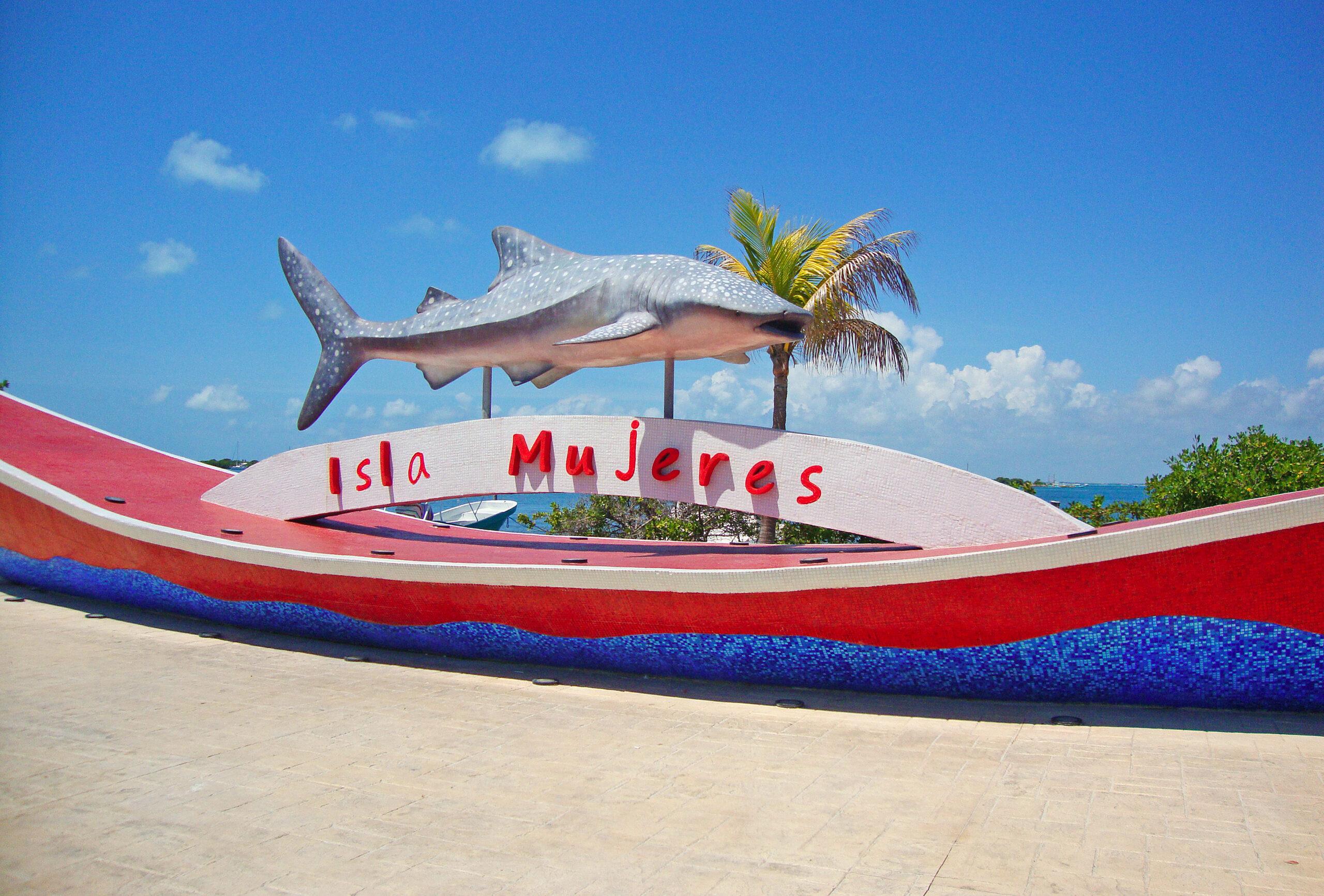 Imagen de Isla Mujeres, fuente de la imagen por Bernard Dupont.