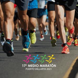 Medio Maratón 5K Puerto Vallarta 2021.